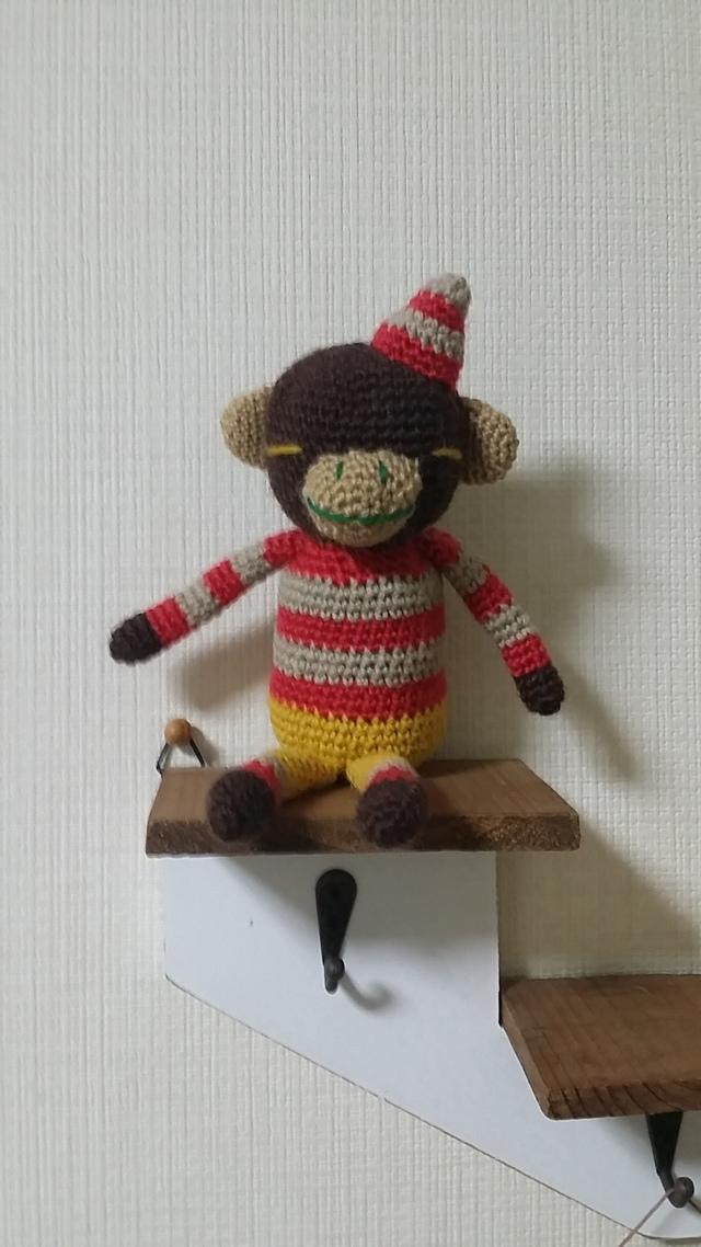 とんがり帽子∞サル(赤)∞