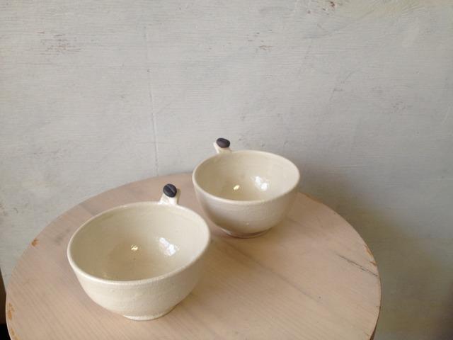 コーヒー豆付き小鉢