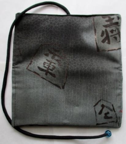 着物リメイク 羽織の裏地で作った和風財布 1791