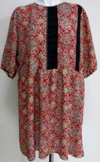 着物リメイク 着物で作ったチュニックワンピース 1792