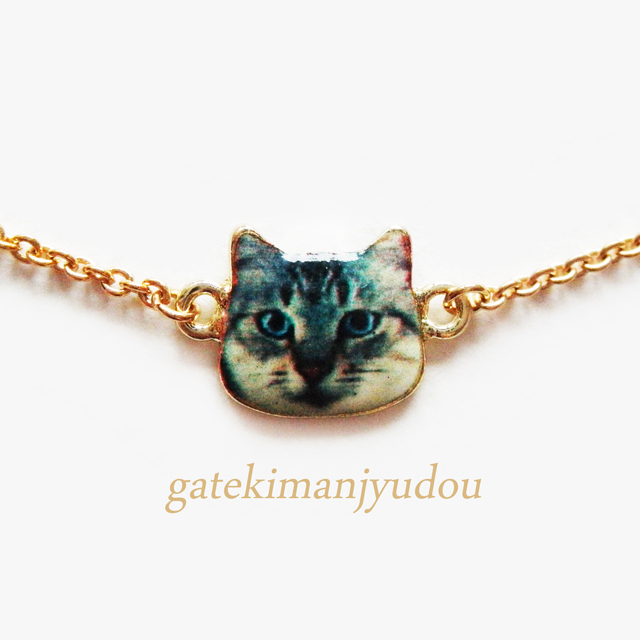 CAT☆FACEブレスレット【サイズ変更可】