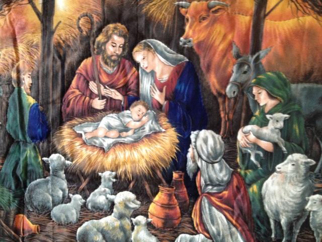 大きなクリスマスタペストリー『クリス...