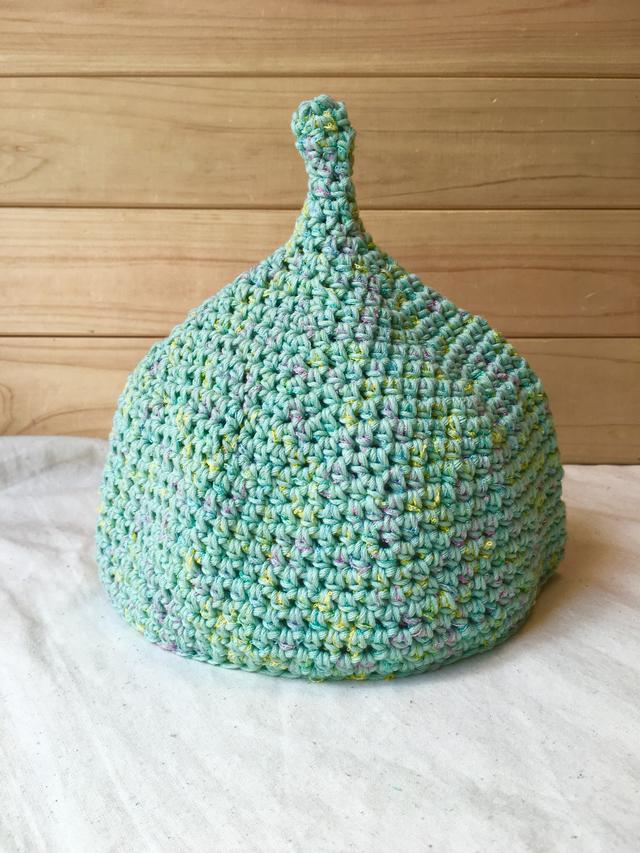 キャンディカラーmint*こびと帽子   Sサイズ