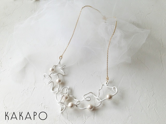 Winding HWP necklace (NO.947)