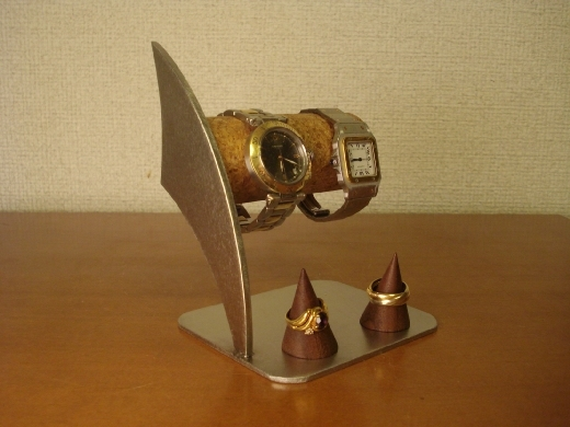 プレゼントに! リングスタンド付き腕時計スタンド ak-design