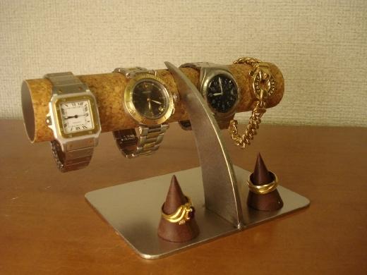腕時計スタンド 木製リングスタンド付き(未固定) ak-design