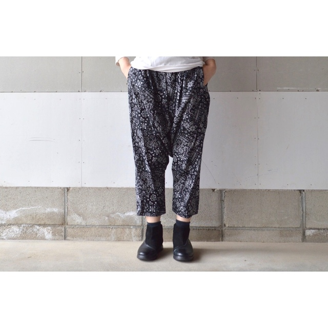 BANDANA SARROUEL PANTS +10��S~M�� (CO...