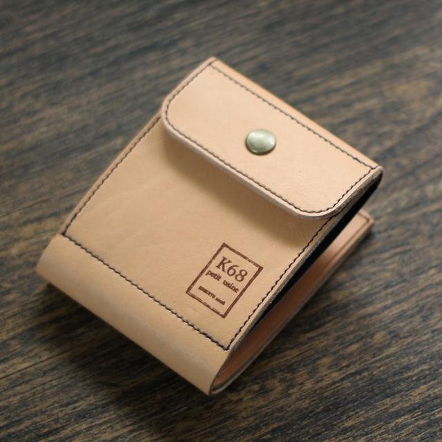 [カスタムサンプル作品2] 二つ折れ財布...