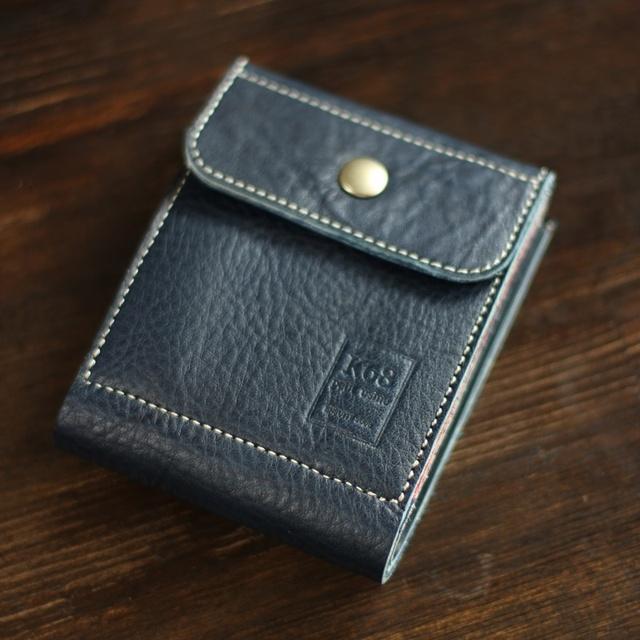 [カスタムサンプル作品3] 二つ折れ財布...