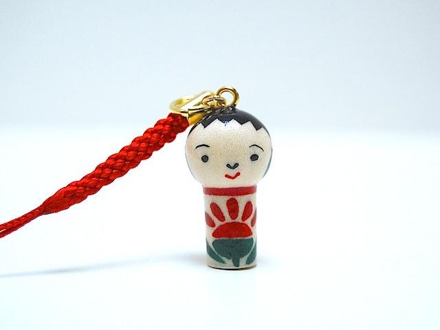 miniコケシ*なるこちゃん*ストラップ*[7]