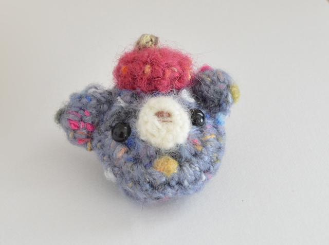 ブローチ|ベレー帽BEAR アオ