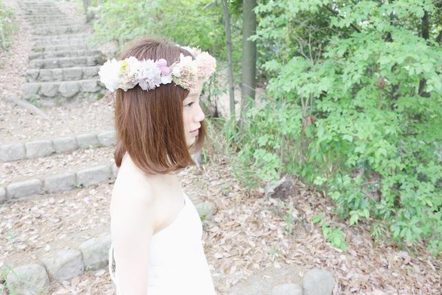 [Hare] hanabatake flower crown