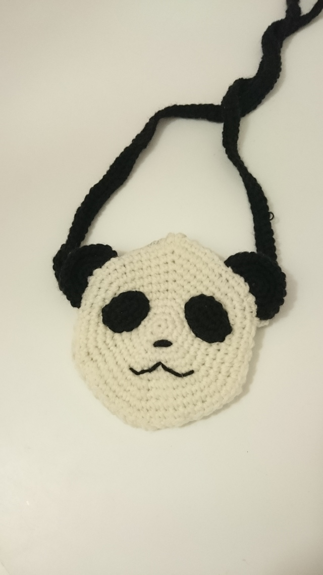 パンダのポシェット