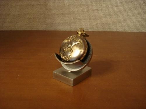 懐中時計スタンド ブラックデザインデスク懐中時計ケーススタンド ak-design