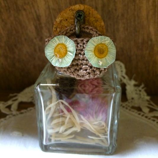 hanaの小瓶(白い小花)