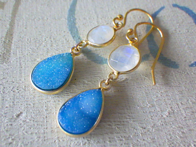 ☆再販☆  Sand bar earrings   *vermail*