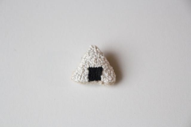 okome brooch【おにぎり】