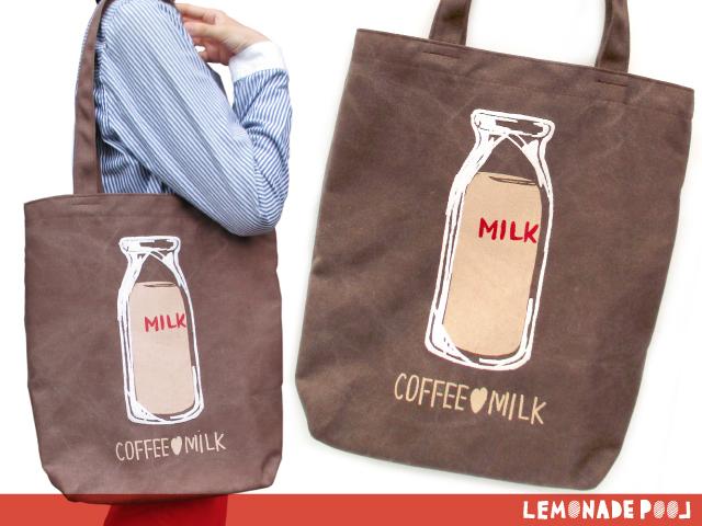 コーヒー牛乳/トートバッグ