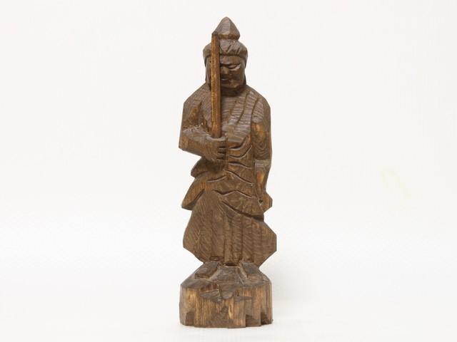 円空仏 摸刻:不動明王(高さ:30センチ 作品番号:fd20160829)