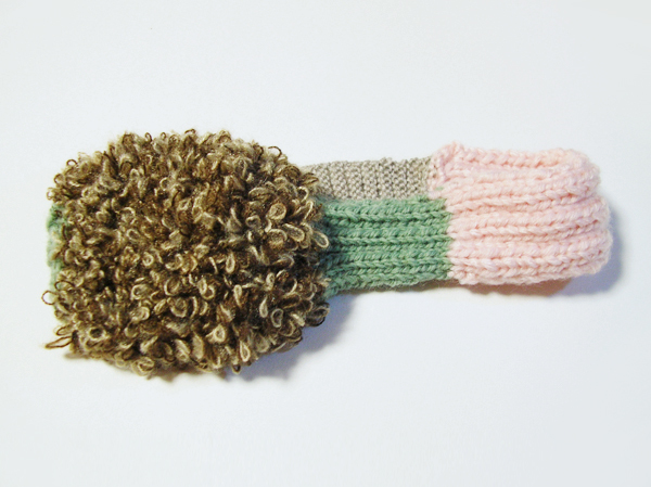 色んな毛糸のヘアバンド2
