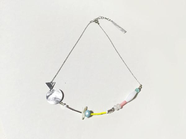 (再販)色んなモチーフの淡いネックレス