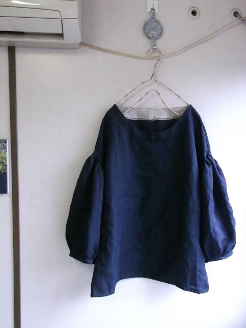 リネンバルーン袖プルオーバー(1点のみ)