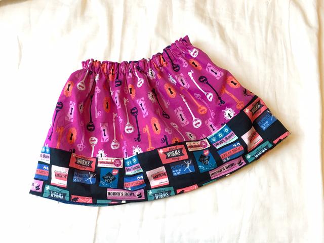 ハロウィン リバーシブルスカート