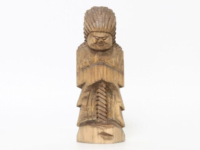 円空仏 摸刻:護法神(高さ:21センチ 作品番号:gh20160501)