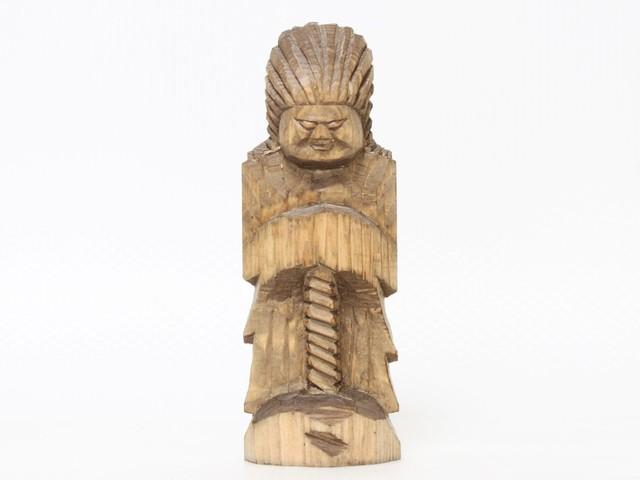 円空仏 摸刻:護法神(高さ:20ンチ 作品番号:gh20160502)