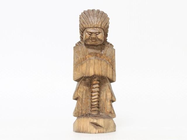 円空仏 摸刻:護法神(高さ:20センチ 作品番号:gh20160503)