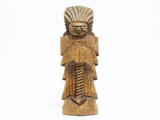 円空仏 摸刻:護法神(高さ:30センチ 作品番号:gh20141007)
