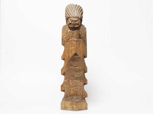 円空仏 摸刻:金剛神(高さ:30センチ 作品番号:kg20150723)