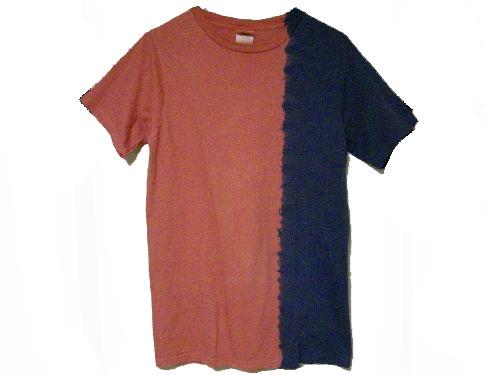 草木染オーガニックTシャツ「色変階002」