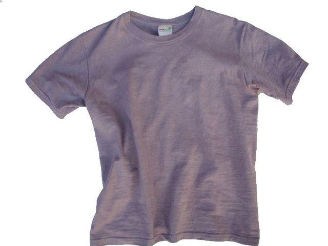 草木染オーガニック無地Tシャツ「紫鼠」