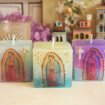 ~Virgin Maria~ CROSS CANDLE