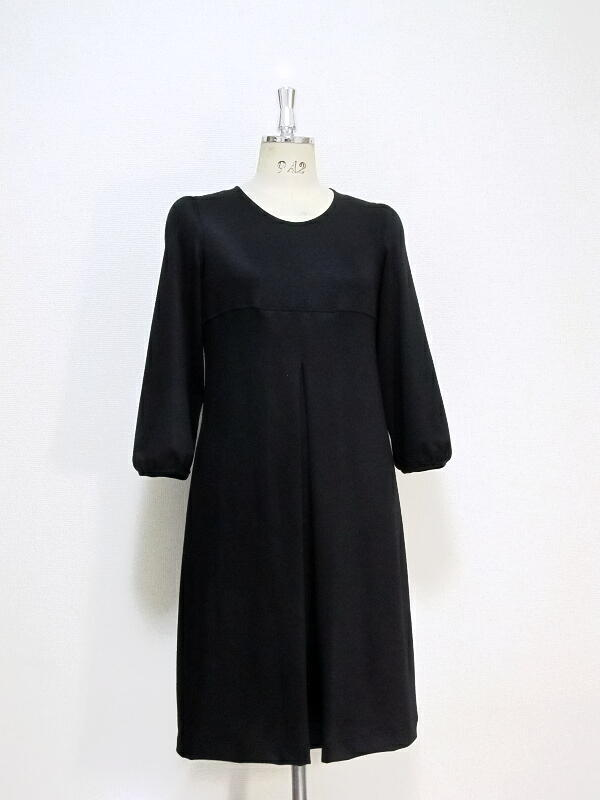 大人ドレス/七分袖ボックスOP
