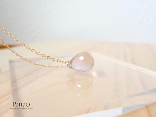 【14KGF】宝石質アメトリンのネックレス