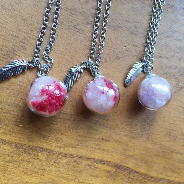 珠  (赤系 3種類