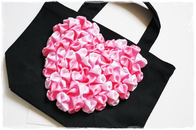 Spring Heart Bag����by bon moment��