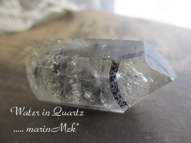 水入り水晶 原石
