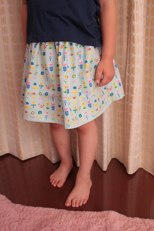子供用スカート(おはな)