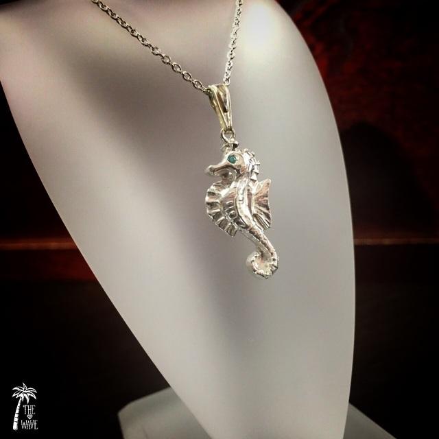 Seahorse Silver - エメラルドグリーン -