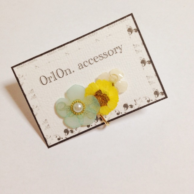 flower Earring.【no/3】