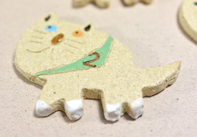 ネコのタイル 7th【箸置き】