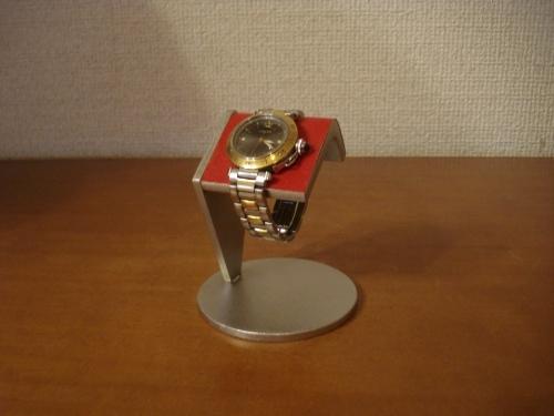 腕時計スタンド レッド一本掛け腕時計スタンド  アングル ak-design