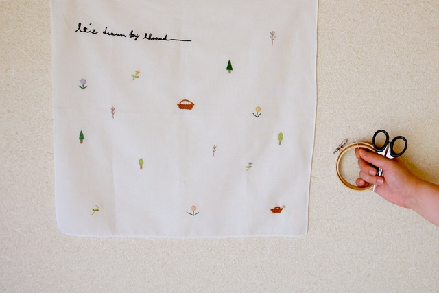 handkerchief -  draw by ito  -