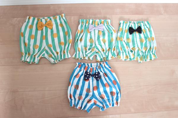�����١�kids   stripe��dots��ribbon pants