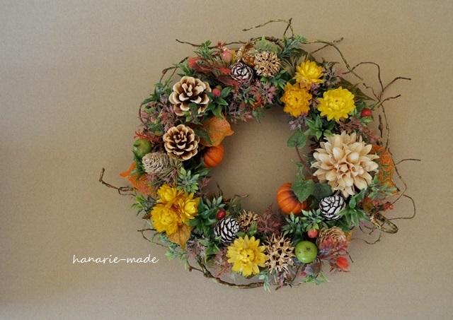 Halloween 枝をそえて:wreath