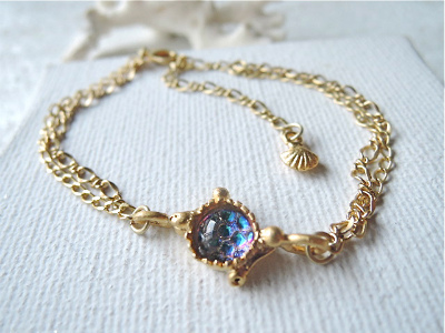 mermaid blue bracelet