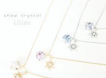 キラキラ‥Snow Crystal‥Necklace*゜
